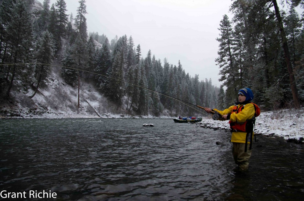 Grande Ronde winter camping, rafting, steelhead fishing pictures