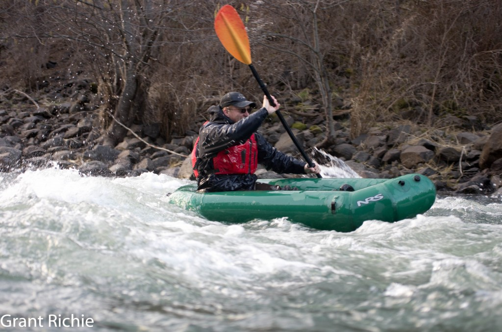 Grant packrafting on the lower Wenaha