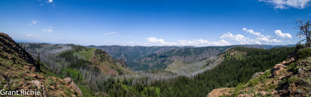 Bear Creek drainage viewed from Standley