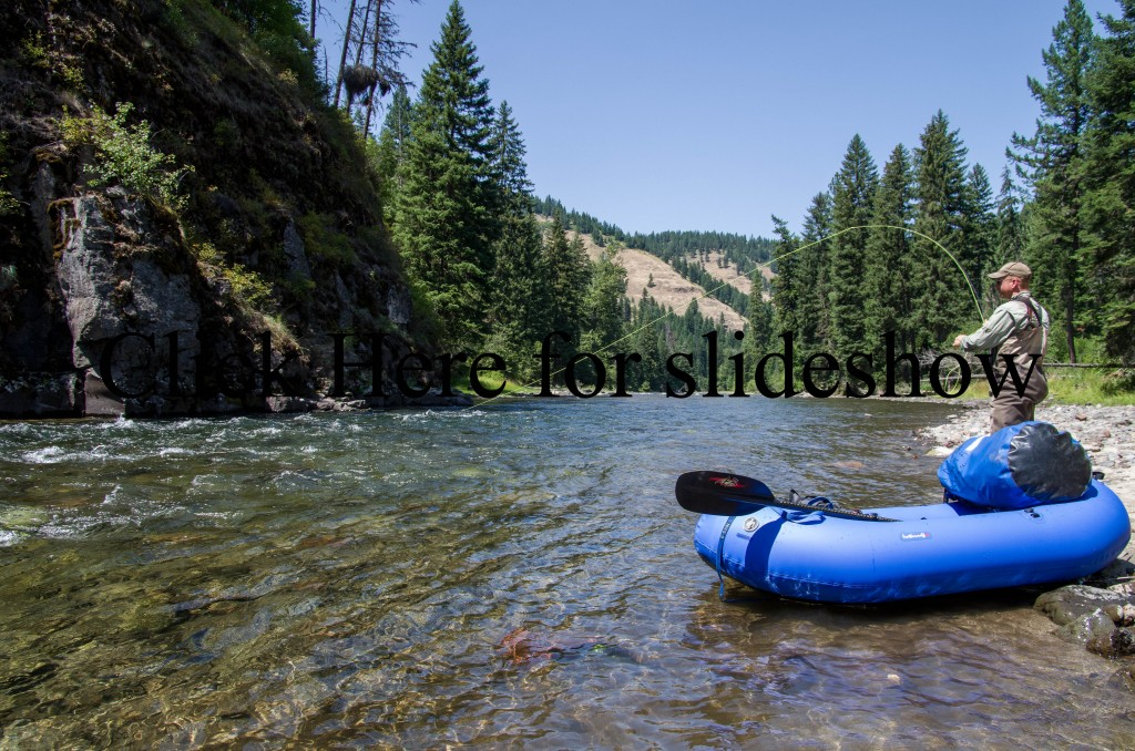 pictures from fly fishing and packrafting the Minam River