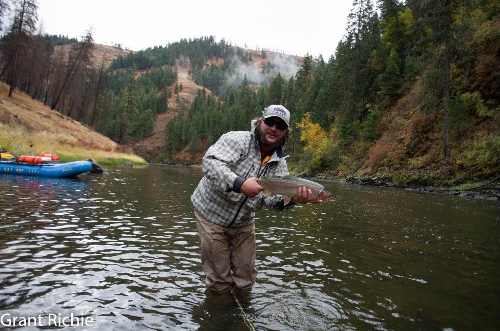 grande ronde steelhead fishing report october 2012