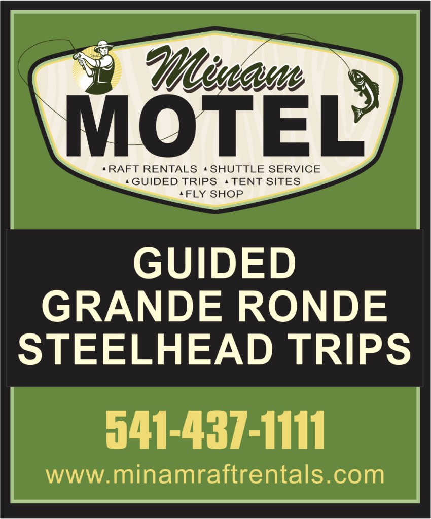 Guided Grande Ronde Stleehead Flyfishing trips